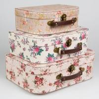 Koffer Blumen